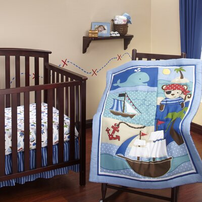 NoJo Baby Buccaneer Crib Bedding Collection