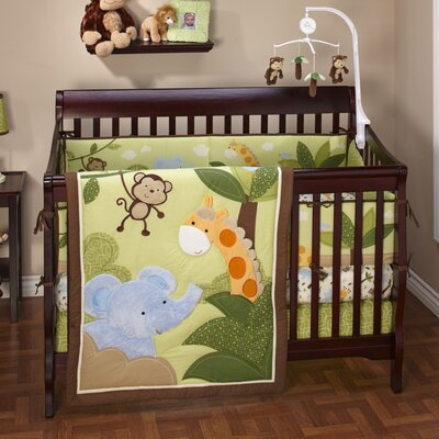 NoJo Jungle Time Crib Bedding Collection