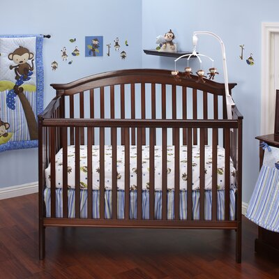 NoJo 3 Little Monkeys Crib Bedding Collection