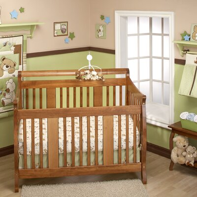 NoJo Dream Land Teddy Crib Bedding Collection