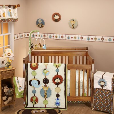 NoJo Jungle Tales Crib Bedding Collection