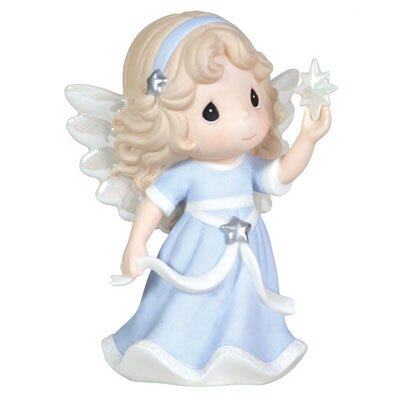 "Precious Moments ""Hope Shall Light The World"" Annual Angel Holding Star Figurine"