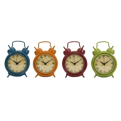 IMAX Corblin Desk Clocks (Set of 4)