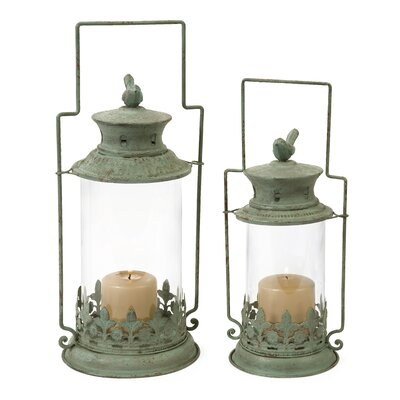 IMAX Luxlin Lanterns (Set of 2)