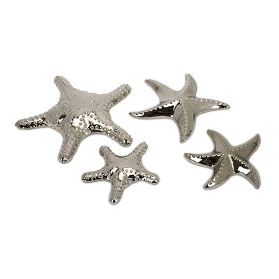 IMAX 4 Piece Ceramic Star Fish Set