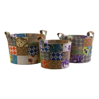 IMAX Sidonie Batik Basket (Set of 3)