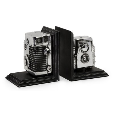 IMAX Vintage Camera Book Ends