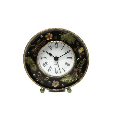 IMAX Chic Jeweled Desk Clock