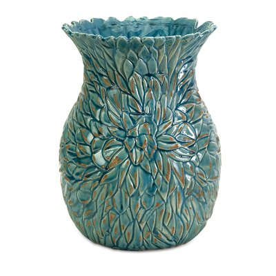 Lotus Leaves Vase