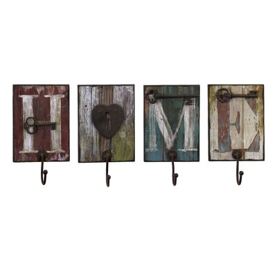 IMAX 4 Piece Casa Wall Hook Set