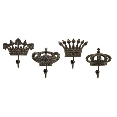 IMAX Regent's Crown Hook (Set of 4)