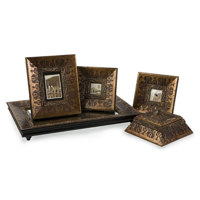 IMAX Five Piece Baroque Inspired Picture Frame (Set of 5)