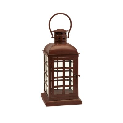 IMAX Chatham Wrought Iron and Glass Lantern
