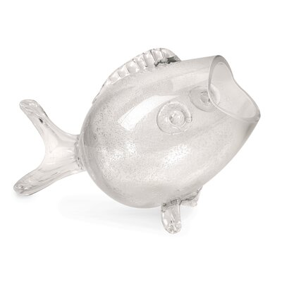 IMAX Peces Glass Fish Vase