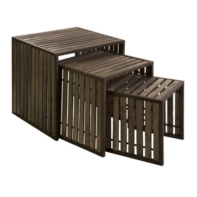 IMAX Vermont 3 Piece Nesting Tables