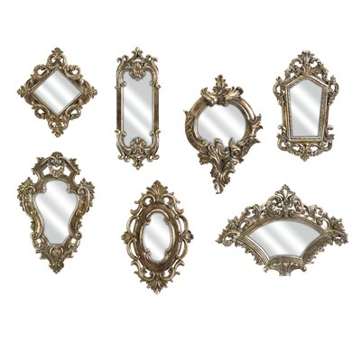 IMAX Loletta Victorian Inspired Mirrors (Set of 7)
