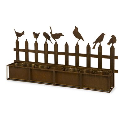 Ardene Iron Bird Planter