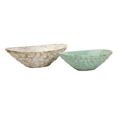 Seashell Serving Bowls (Set of 2)