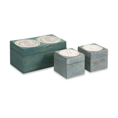 Haani Carved Boxes (Set of 3)