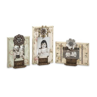 Davis Door Hinge Picture Frame (Set of 3)