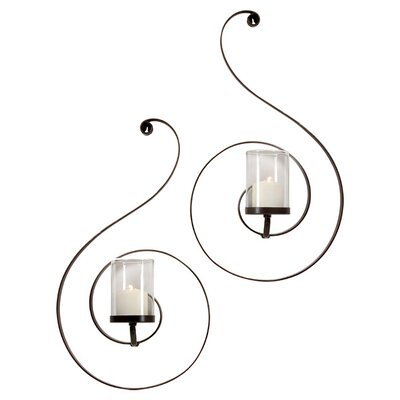 <strong>IMAX</strong> Forte Iron Sconces (Set of 2)