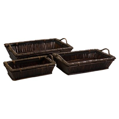 IMAX McCaslin Serving Tray (Set of 3)