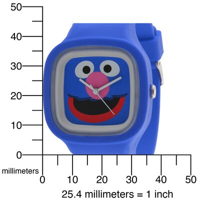Sesame Street Grover Jelly Watch in Blue