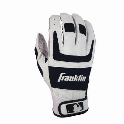 Franklin Sports Shok-Sorb Pro Series Home and Away Adult Batting Gloves