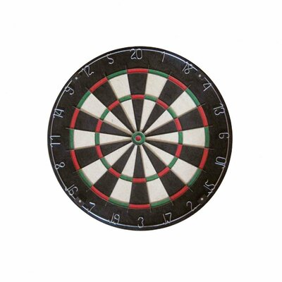 Franklin Sports Bristle Dartboard with Knife Edge Wire