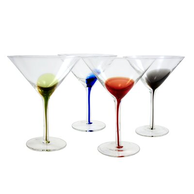 The DRH Collection Artland Splash Martinis (Set of 4)