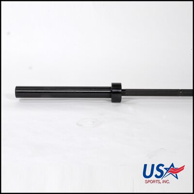 "USA Sports by Troy Barbell 86"" Olympic Bar in Black"