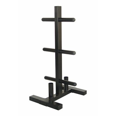 VTX by Troy Barbell VTX Olympic Plate Rack and Bar Holder