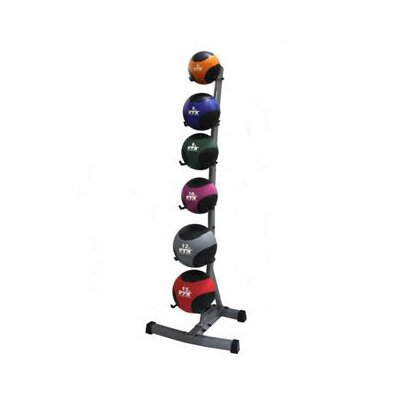 Troy Barbell VTX Medicine Ball Set with Rack