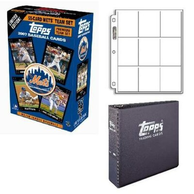 Topps MLB Trading Card Sets - Baseball Premium - New York Mets