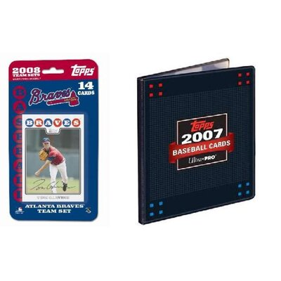 Topps MLB 2007 Trading Card Set - Atlanta Braves