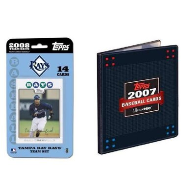 Topps MLB 2008 Trading Card Set - Tampa Bay Rays