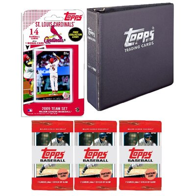 Topps MLB 2009 Trading Card Set - St Louis Cardinals