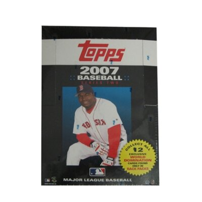 Topps MLB Trading Cards - 2007 Two Rack Pack (24 packs)