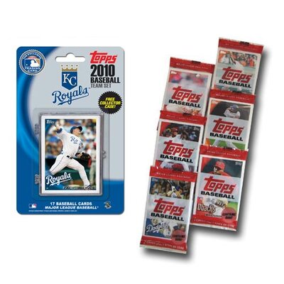 Topps MLB 2010 Team Set with Packs Trading Cards - Kansas City Royals