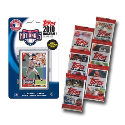 MLB 2009 Team Set with Packs Trading Cards - Washington Nationals