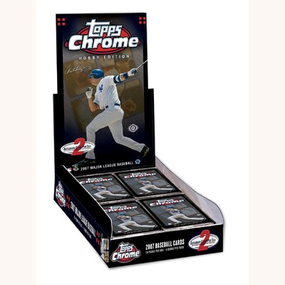 MLB 2007 Chrome Hobby Trading Card