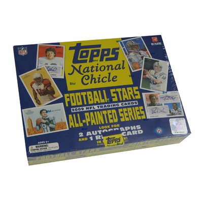 Topps NFL 2009 National Chicle Hobby Trading Cards (24 Packs)
