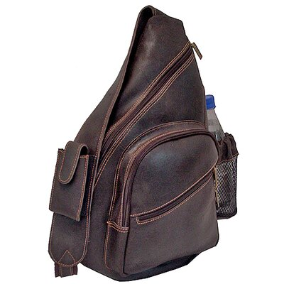 David King Backpack-Style Cross Body Bag