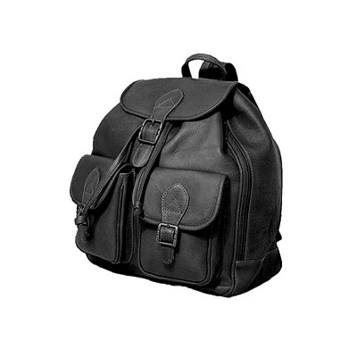 Flap Top Double Front Pocket Sling Bag