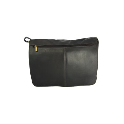 David King East/West Full-Flap Messenger Bag