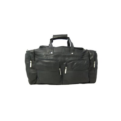"David King 19"" Leather Gym Duffel"