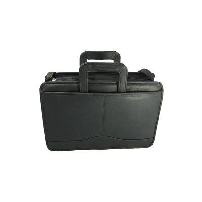 David King Leather Briefcase