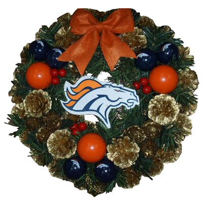 Team Beans NFL Door Wreath