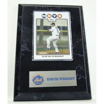 Sports Images MLB David Wright Card Plaque - New York Mets