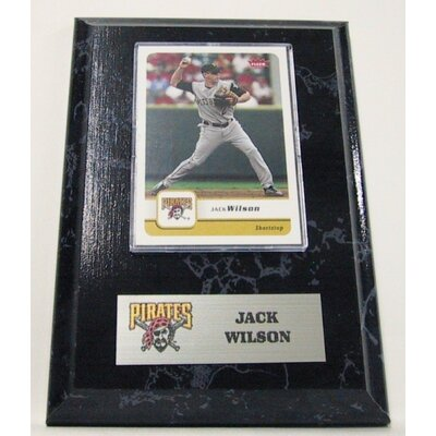 Sports Images MLB Jack Wilson Card Plaque - Pittsburgh Pirates